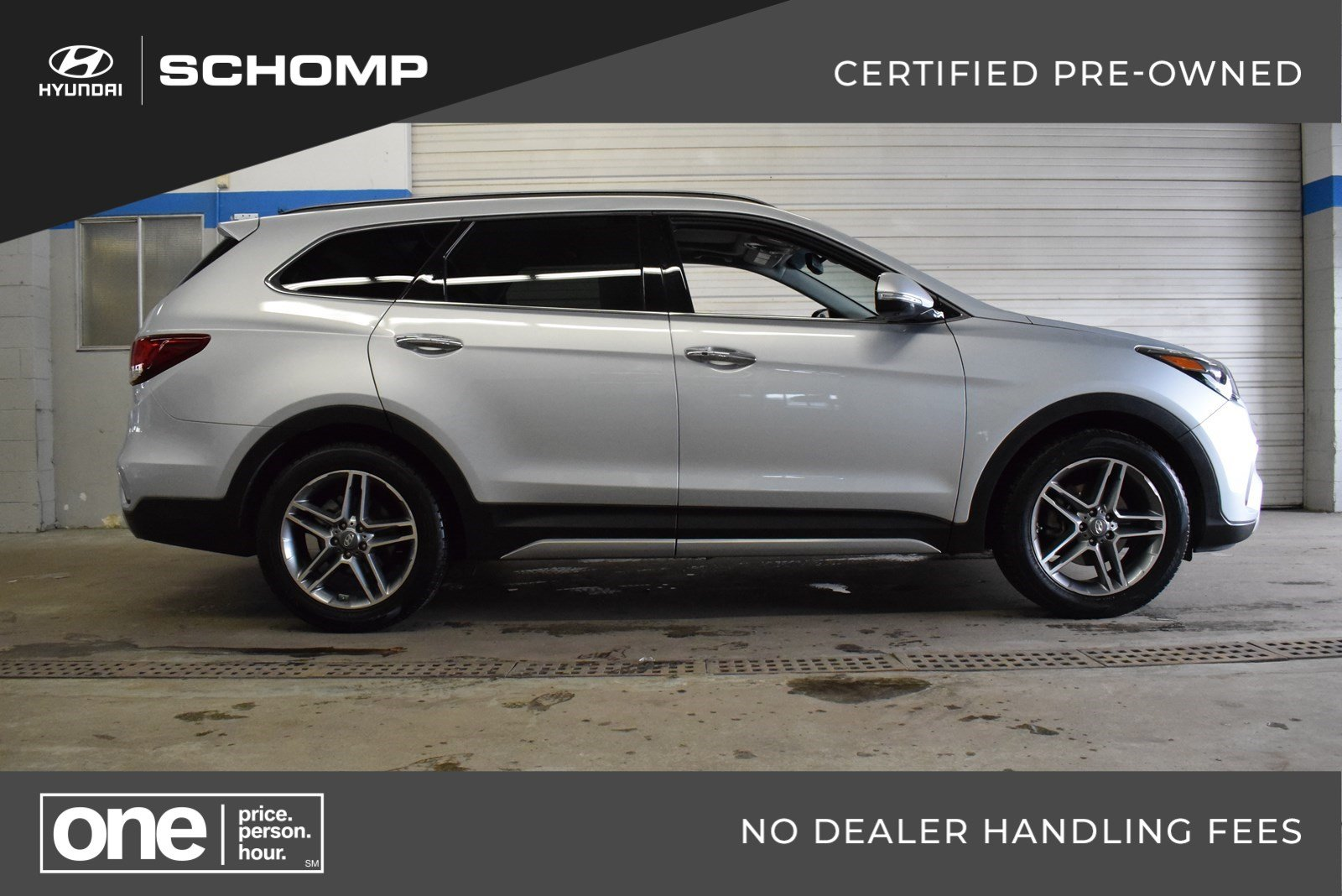 Certified Pre-Owned 2017 Hyundai Santa Fe Limited Ultimate