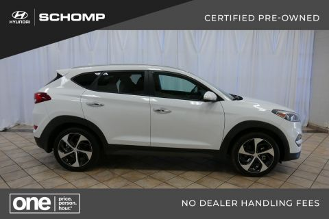 Certified Pre-Owned 2016 Hyundai Tucson Limited With Navigation & AWD